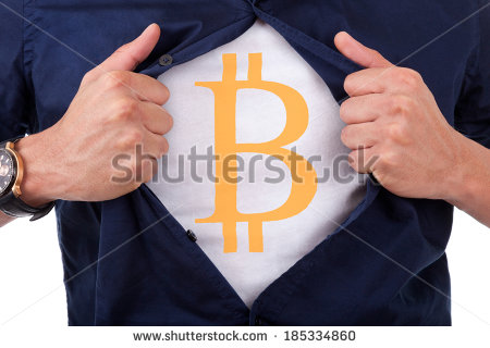 stock-photo-young-businessman-opening-his-shirt-and-showing-bitcoin-currency-symbol-185334860