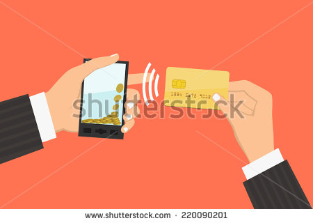 stock-vector-flat-design-style-illustration-smartphone-with-processing-of-mobile-payments-from-credit-card-220090201