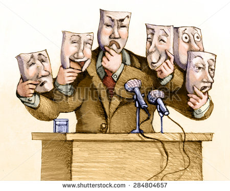 stock-photo-a-politician-speaks-to-the-public-with-a-set-of-masks-284804657