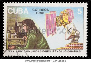 stock-photo-cuba-circa-a-postage-stamp-printed-in-cuba-shows-radio-and-satelites-as-telecommunication-324415358