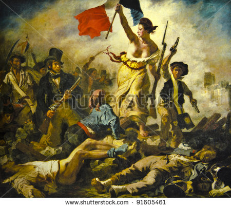 stock-photo-ferdinand-delacroix-liberty-on-the-barricades-reproduction-of-illustrated-91605461