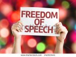 stock-photo-freedom-of-speech-card-with-colorful-background-with-defocused-lights-242533441