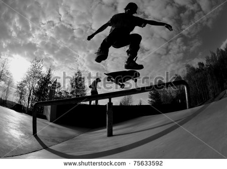 stock-photo-perfect-silhouette-of-a-skateboarder-doing-a-flip-trick-at-the-skate-park-75633592