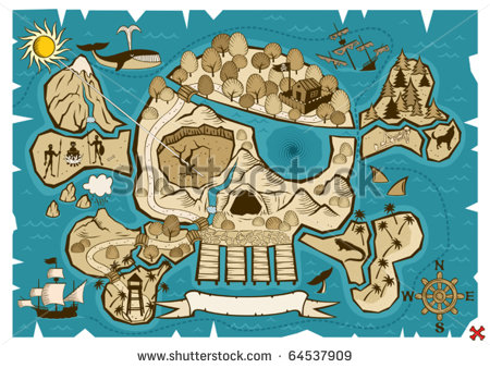 stock-vector-treasure-map-map-of-treasure-island-in-the-shape-of-skull-and-bones-use-the-x-in-the-lower-right-64537909