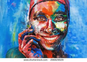 stock-photo-living-painting-smiling-woman-completely-covered-with-thick-paint-266829029