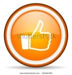 stock-photo-thumb-up-orange-glossy-circle-icon-on-white-background-120484765