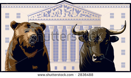 stock-vector-bear-and-bull-in-front-of-the-new-york-stock-exchange-building-2836488