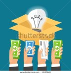 stock-vector-crowdfunding-process-investing-to-startup-business-idea-light-bulb-in-a-box-flat-design-331271417