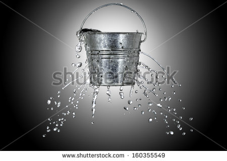 stock-photo-water-is-coming-out-of-a-bucket-with-holes-160355549