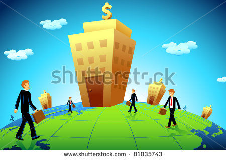 stock-vector-illustration-of-business-man-going-to-bank-building-81035743