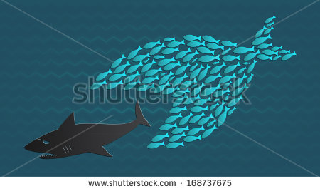 stock-vector-together-we-stand-big-little-fish-eats-big-fish-168737675