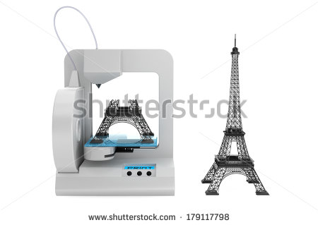 stock-photo--d-printer-build-eiffel-tower-model-on-a-white-background-179117798