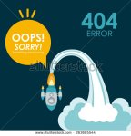 stock-vector-error-design-over-blue-background-vector-illustration-263605544