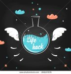 stock-vector-flying-chemistry-bottle-with-wings-and-lifehack-sign-on-it-life-hack-trick-skills-and-methods-288107876