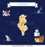 stock-vector-tunisia-treasure-map-in-flat-design-colorful-cartoon-treasure-map-of-tunisia-with-flat-design-371331493