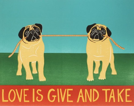 love-is-give-and-take-pugs