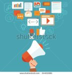 stock-vector-vector-digital-marketing-concept-in-flat-style-infographics-and-icons-online-digital-media-244015081