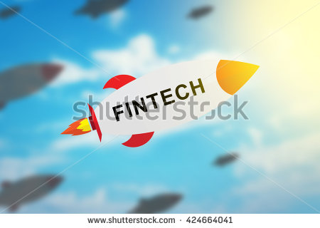 stock-photo-group-of-fintech-or-financial-technology-flat-design-rocket-with-blurred-background-and-soft-light-424664041
