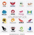 stock-vector-animal-logo-collection-bird-logo-eagle-logo-owl-logo-fox-logo-lion-logo-monkey-logo-horse-logo-fish-317955716
