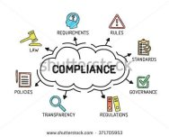 stock-vector-compliance-chart-with-keywords-and-icons-sketch-371705953