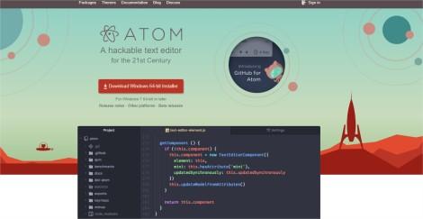 Atom - Google Chrome