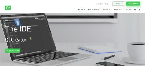 Qt - Product The IDE - Google Chrome