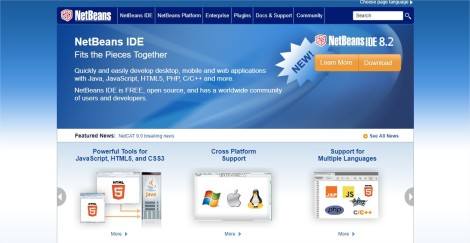 Welcome to NetBeans - Google Chrome